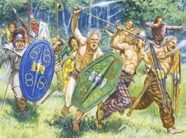 Кельтские племена