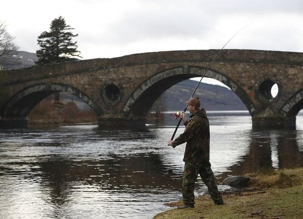 Лососевая рыбалка в Шотландии
