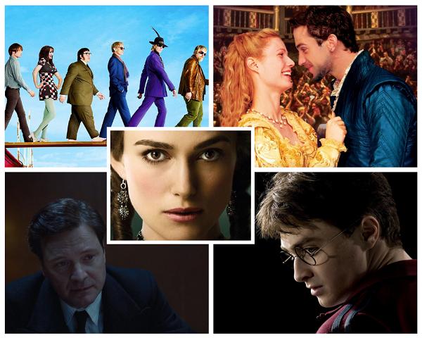 Самые популярные фильмы Великобритании