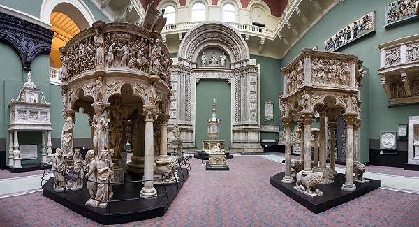 Музей Виктории и Альберта (внутри)