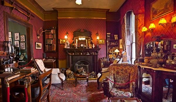 Музей Шерлока Холмса (внутри)
