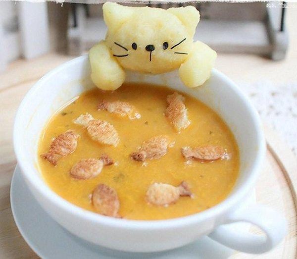 Обед для ребенка