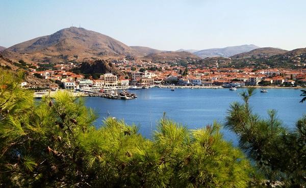 Остров Лемнос в Греции