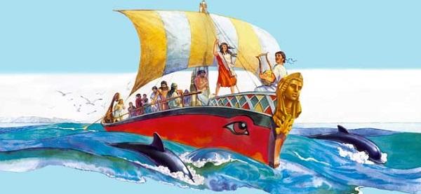 Отправка аргонавтов в Колхиду
