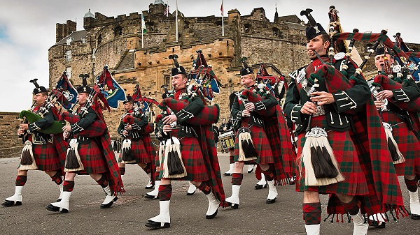 Парад в Шотландии