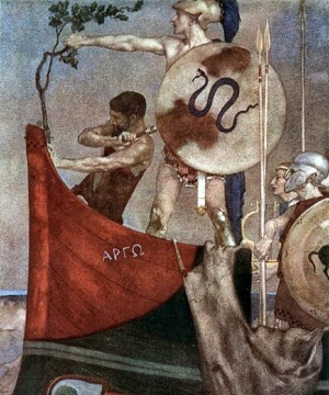 Прибили к кораблю ветку священного дуба