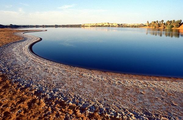 Реликтовое озеро Чад