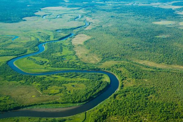 Самая длинная река в Великобритании Северн