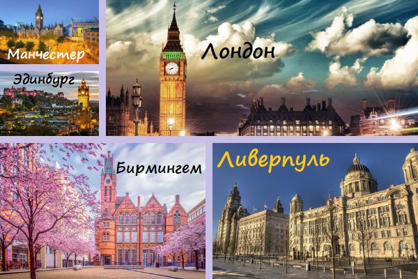 Самые большие города Великобритании