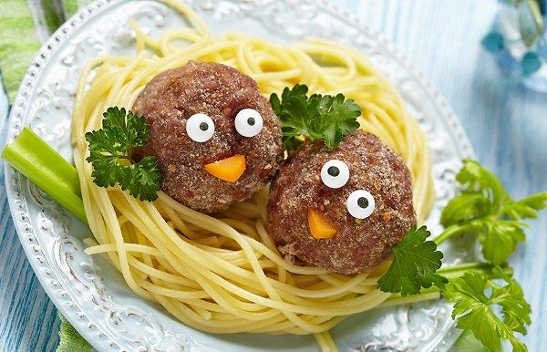 Ужин для ребенка