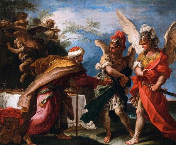 Финей и сыновья Борея - Себастьяно Риччи - около 1695