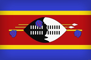 Флаг Эсватини (Свазиленда)