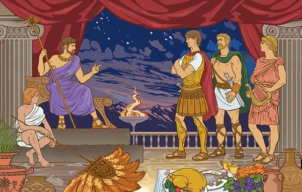 Царь Ээт и аргонавты