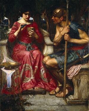 Ясон и Медея - Джон Уильям Уотерхаус - 1907