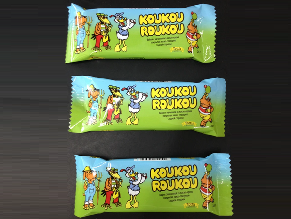 Вафли KOUKOU ROUKOU