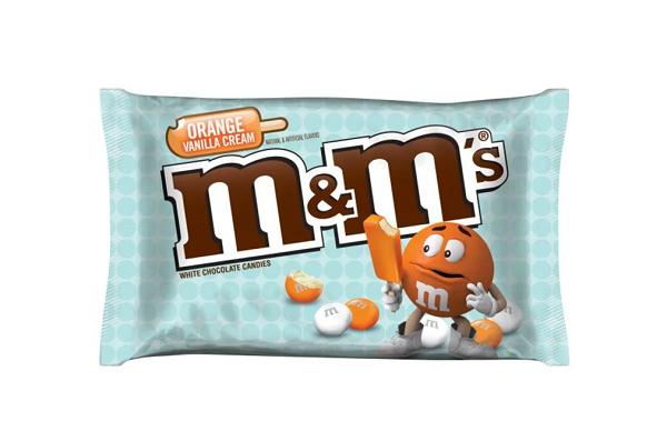 Orange Vanilla Cream M&M's