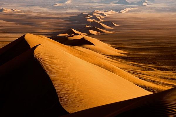 Дюны в Сахаре
