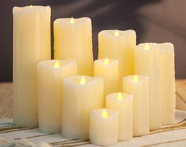 Материал из свечей