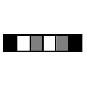 Полоска из квадратов