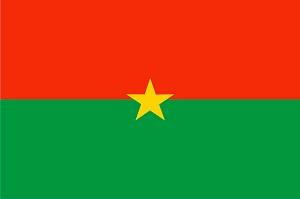 Флаг Буркина Фасо