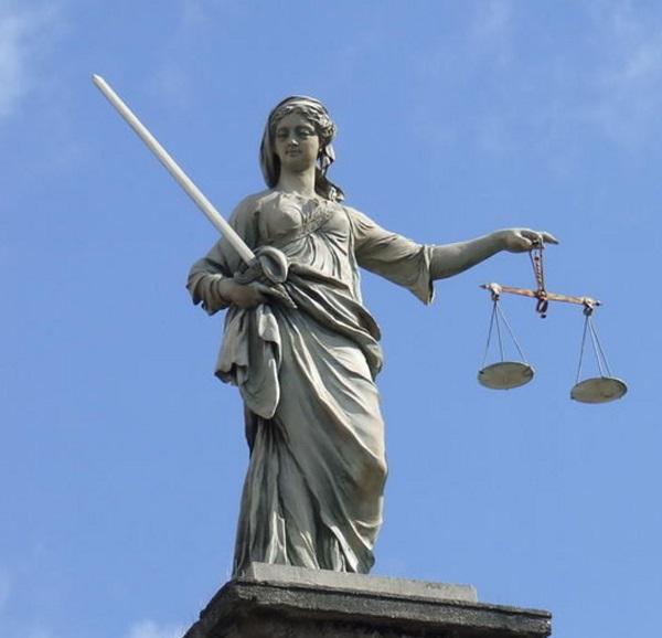 Богиня правосудия Дике