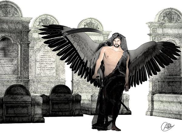 Бог смерти Танат