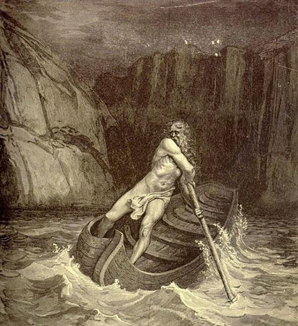 Перевозчик душ умерших Харон