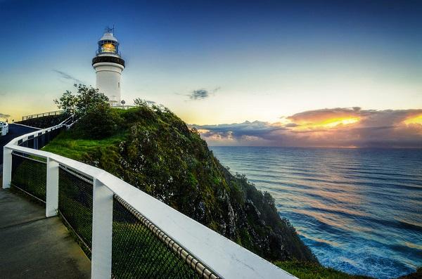 Самая восточная точка Австралии - мыс Байрон