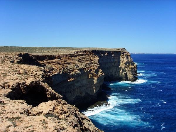 Самая западная точка Австралии - мыс Стип-Пойнт