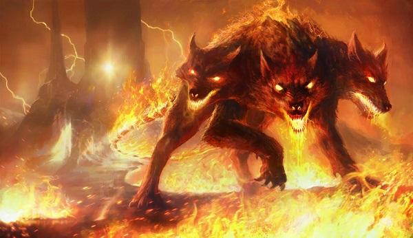 Трехглавый адский пес Кербер