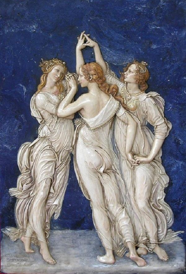 Три Грации - картина Сандро Боттичелли