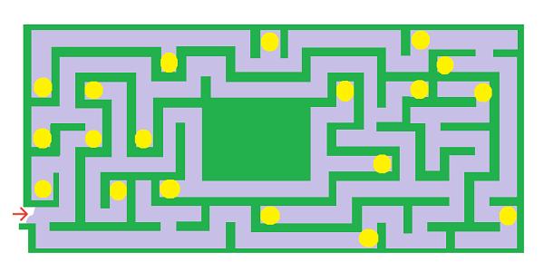 Лабиринт - задача - 2 класс