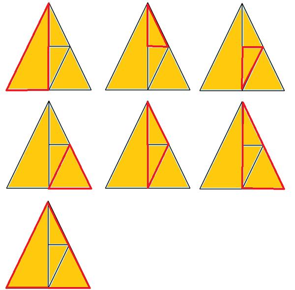 7 треугольников