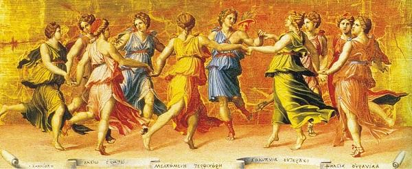 Дж Романо - Аполлон Танцующий с музами