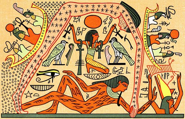 Представлений древних египтян о земле
