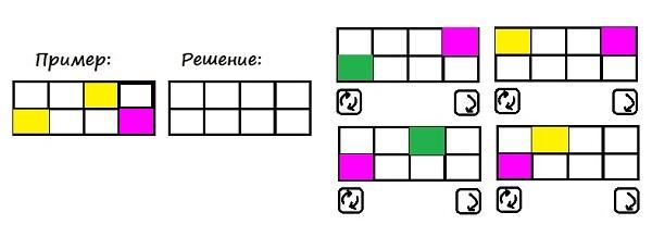 Цветные карточки - 1 класс