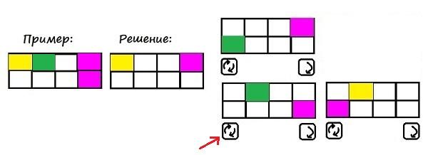 Цветные карточки - 2 класс - шаг 2