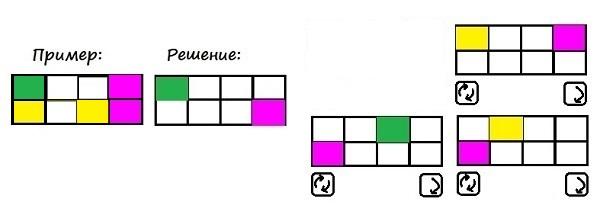 Цветные карточки - 3 класс - шаг 3