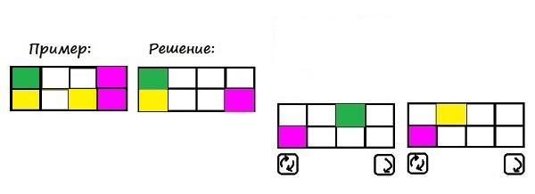 Цветные карточки - 3 класс - шаг 6