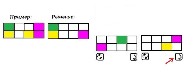 Цветные карточки - 3 класс - шаг 7