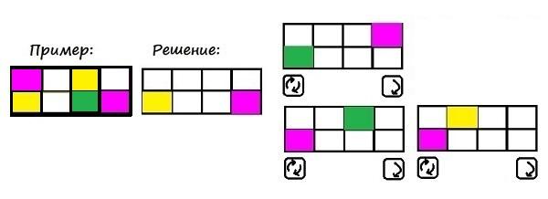 Цветные карточки - 4 класс - шаг 3