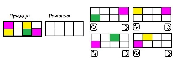 Цветные карточки - 4 класс