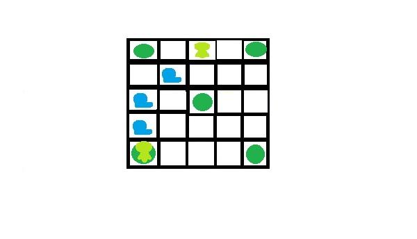 Лягушки и улитки - 1 класс - задача