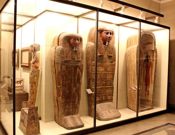Залы Древнего Египта