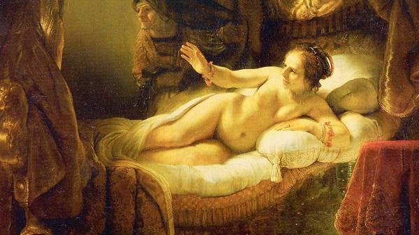 Картина Даная Рембрандта