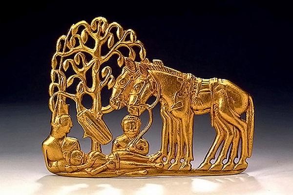 Скифское золото в Эрмитаже