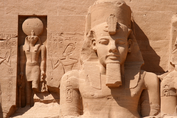 Статуя Рамсеса 2