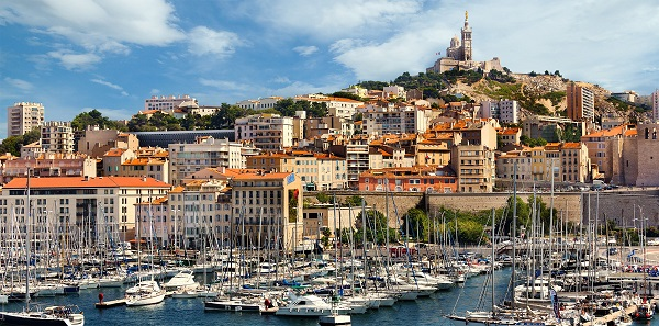 Город порт-Марсель