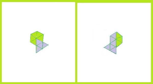 Одинаковые фигуры - 1 класс - ответ