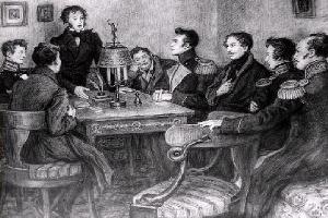 Первая встреча А. Пушкина с Николаем I